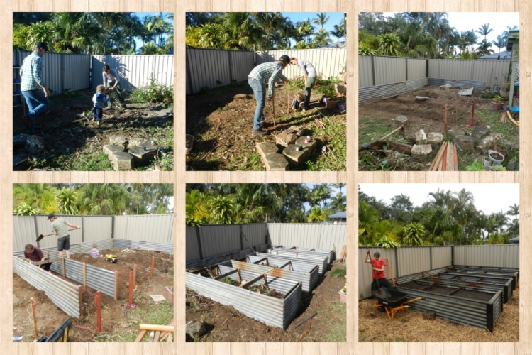 making of the garden