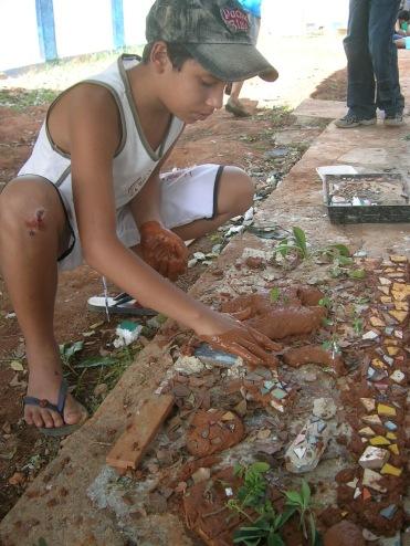 Making clay models
