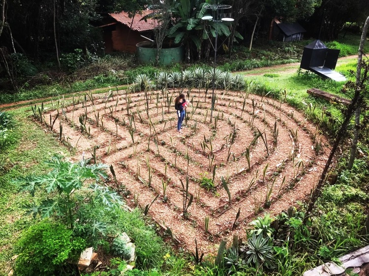 labyrinth Ecocentro IPEC