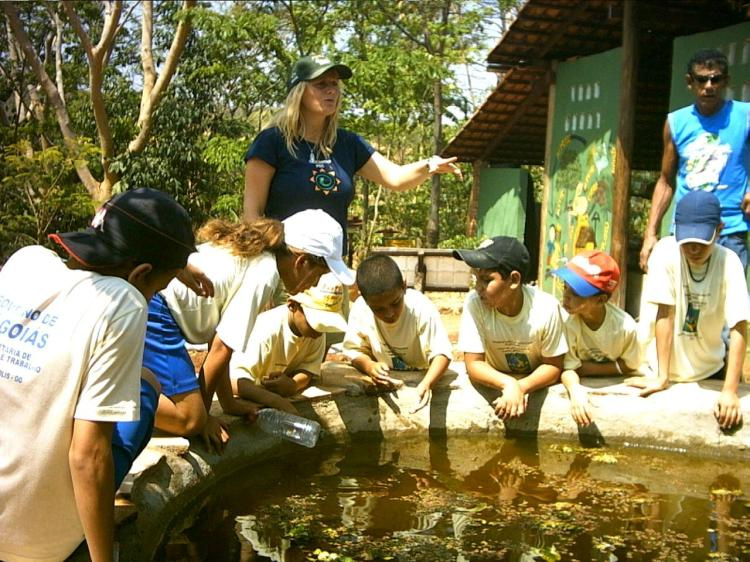 aquatic life in ponds, ecocentro ipec, lucy legan